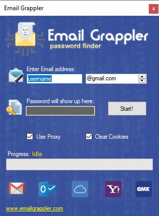 Email Grappler - E-mail Hack Tool